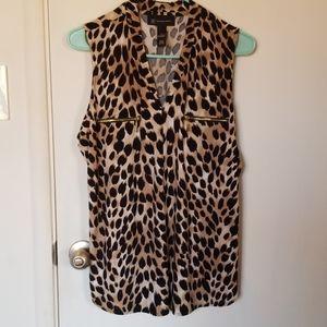 Women's Leopard Print Top